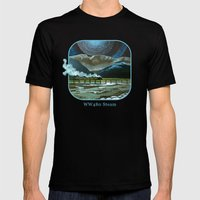 Night Passage - WW480 Steam Mens Fitted Tee Black SMALL