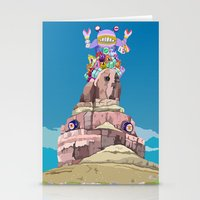 BEN LESSA SATINI Stationery Cards