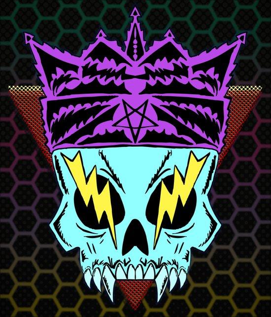 King Demon Art Print
