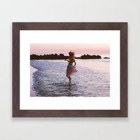 Sunrise Part 3 Framed Art Print