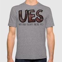 The Upper East Side (An … Mens Fitted Tee Athletic Grey SMALL