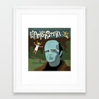 Young Frankenstein Framed Art Print