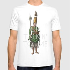 Ottoman No: 1 SMALL White Mens Fitted Tee