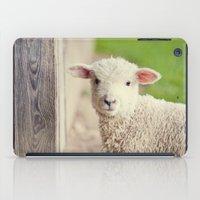 Little Lamb I iPad Case
