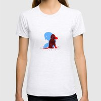 G_F Womens Fitted Tee Ash Grey SMALL