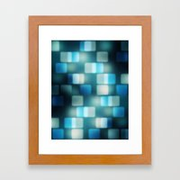 Movie Lights Framed Art Print