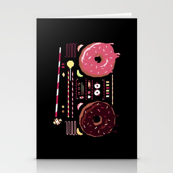 Sweet Music Stationery Card