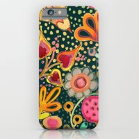 iPhone Cases featuring depuis l'aurore II by sylvie demers