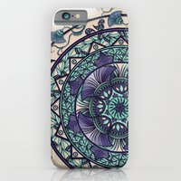 Morning Mist Mandala iPhone 6 Slim Case