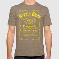 Pan Galactic Gargle Blas… Mens Fitted Tee Tri-Coffee SMALL