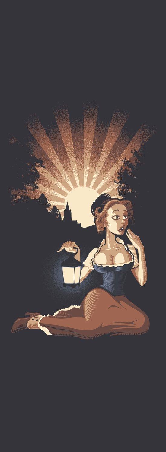 Pistols At Dawn-Miss Edmond Art Print