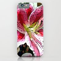 Pink Day Lily iPhone 6 Slim Case