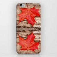 LEAF ME ALONE iPhone & iPod Skin