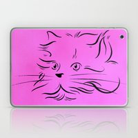 Cat Lines Laptop & iPad Skin