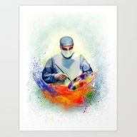 Art Print featuring The Art Of Medicine by Cleev