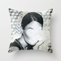 Torn 3 Throw Pillow