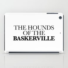 THE HOUNDS OF THE BASKERVILLE iPad Case