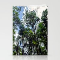 Stationery Cards featuring Swamp Trees With Moss by JMcCool