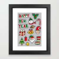 My Christmas Theme (: Framed Art Print