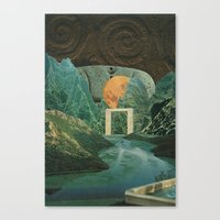 The Green Place Canvas Print
