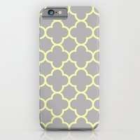 MOROCCAN {YELLOW/GRAY}  iPhone 6 Slim Case