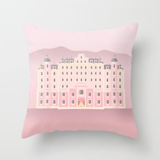 The Grand Budapest Throw Pillow
