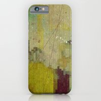 iPhone & iPod Case featuring yellow by Laura Moctezuma