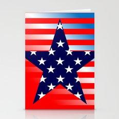 Patriotic American Symbols  Stationery Cards
