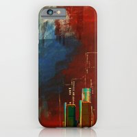 iPhone & iPod Case featuring Death of Detriot - Skyline  by mcmerriweather