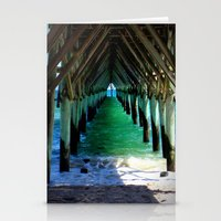 Peaceful Under the Pier Stationery Cards