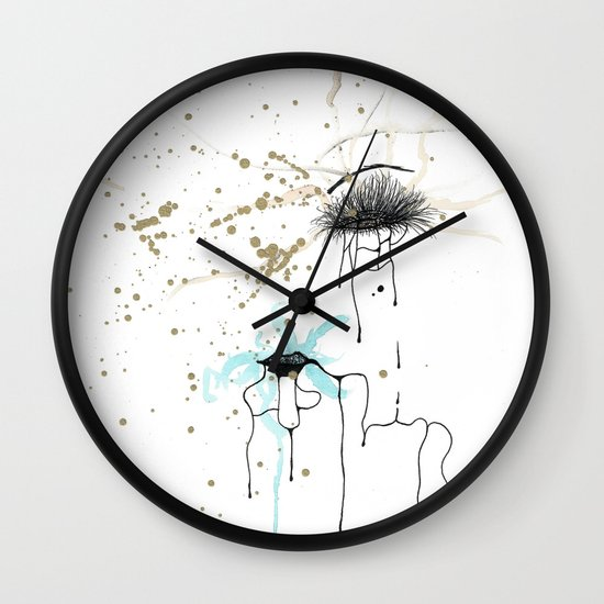 Keep Hustlin' Wall Clock