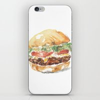 A burger iPhone & iPod Skin