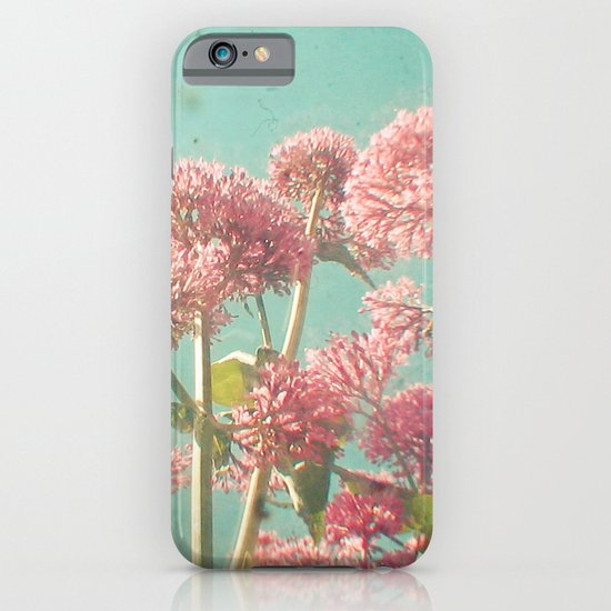 Pink Milkweed iPhone & iPod Case