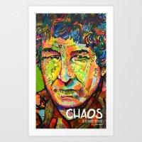 Chaos is a Friend Art Print