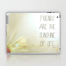 Sunshine & Friendship Laptop & iPad Skin
