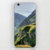 Mountains, Green, Gigant… iPhone & iPod Skin