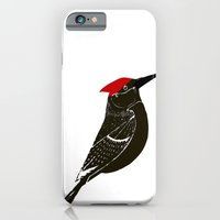iPhone & iPod Case featuring Birds- wood pecker by ialbert