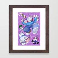 Cryaotic :: JUMP Framed Art Print
