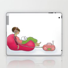 quiet contemplation Laptop & iPad Skin