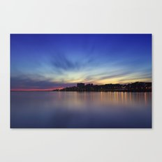 Long Exposure. Porto, Portugal. Canvas Print