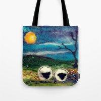 Highland Sheep Tote Bag