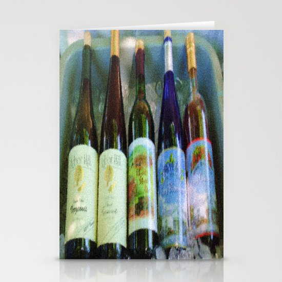vino time Stationery Card