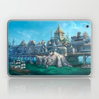 -City on the Big Bridge- Laptop & iPad Skin