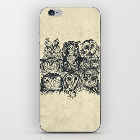 Nine Owls iPhone & iPod Skin