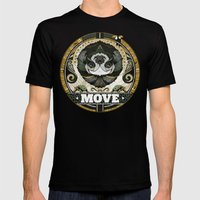 Move Mens Fitted Tee Black SMALL