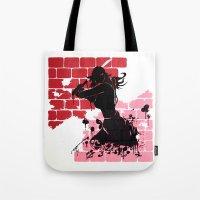 Woman Warrior Tote Bag