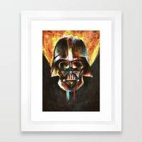 Darth Vader  Framed Art Print
