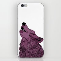 Howlin for Love iPhone & iPod Skin
