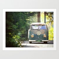 Peace Love Nature Art Print
