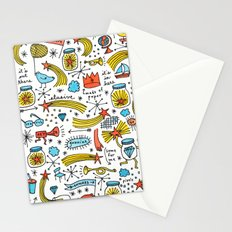 chasing stars and putting them in jars Stationery Cards